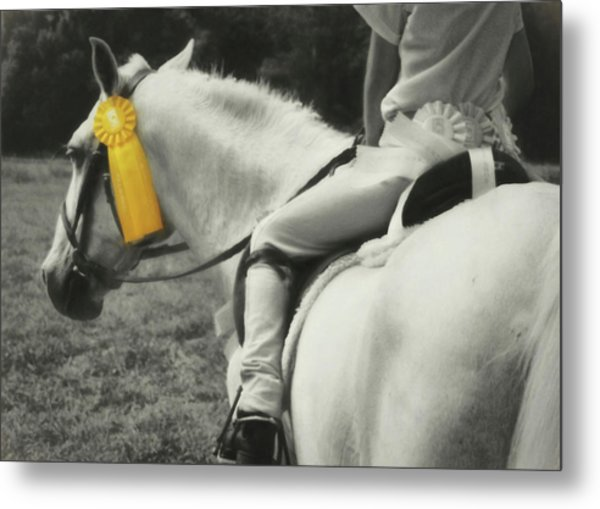 First Show Yellow Metal Print by JAMART Photography