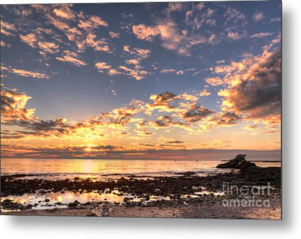 First Sunset Of 2013 Metal Print
