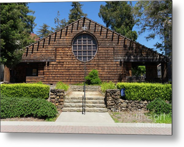 First Unitarian Church Now Bancroft Dance Studio At University Of California Berkeley Dsc6307 Metal Print