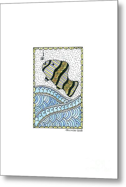Fish In The Sea Metal Print