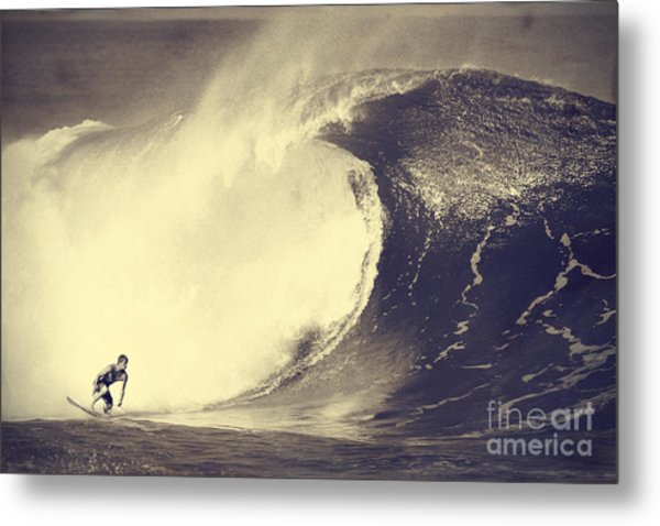 Fisher Heverly At Pipeline Metal Print