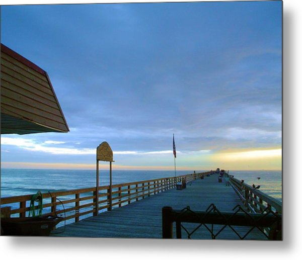 Fisherman's Paradise Metal Print