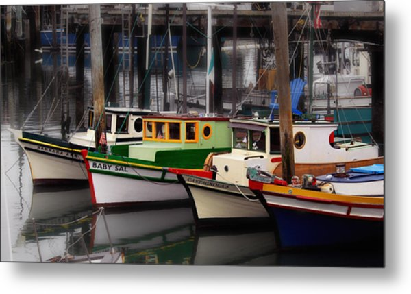 Fisherman's Wharf Metal Print