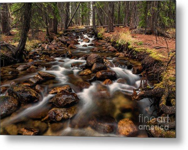 Fishhook Creek Waterscape Art By Kaylyn Franks Metal Print