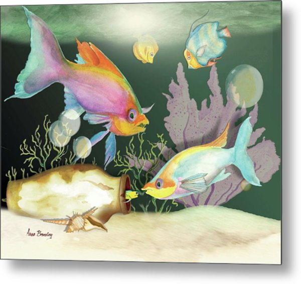Fishing Expedition Metal Print
