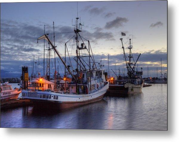 Fishing Fleet Metal Print