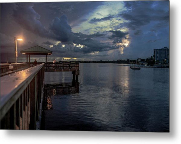 Fishing Nights Metal Print
