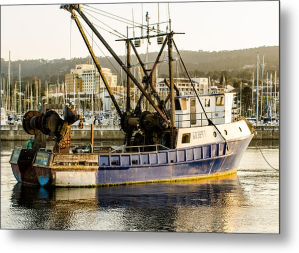 Fishing Trawler Metal Print