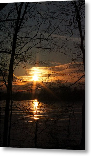 Five O Metal Print by Mark  France