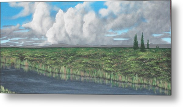 Five Pines Metal Print by Candace Shockley