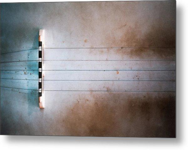 Five String Banjo Metal Print