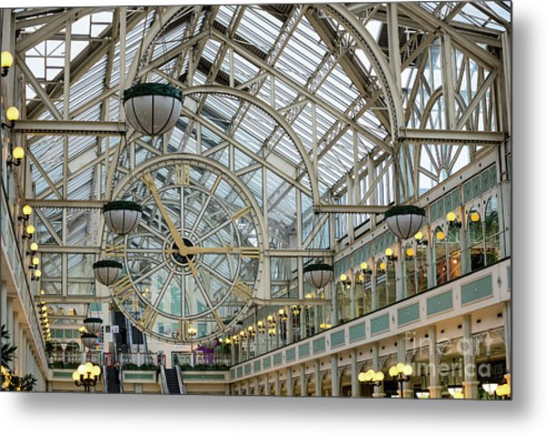 Five To Three - At St. Stephens Green Shopping Centre In Dublin Metal Print