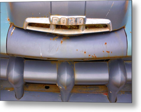 Fix Or Repair Daily Metal Print by Jan Amiss Photography
