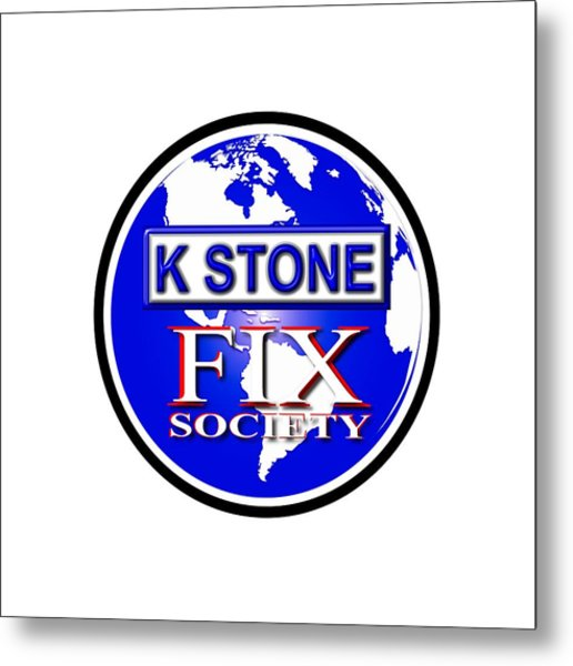 Fix Society Metal Print
