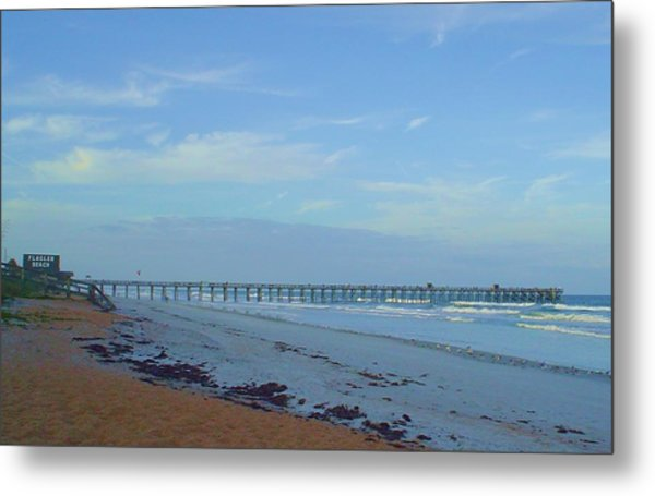 Flagler Morning Metal Print