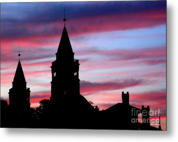 Flagler Towers Metal Print by Addison Fitzgerald