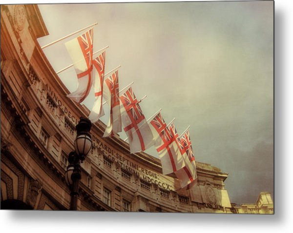 Flags Of London Metal Print by JAMART Photography