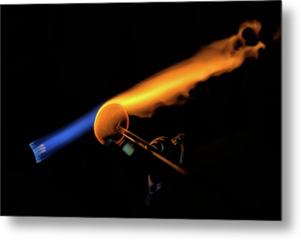 Flame Work Metal Print by Digiblocks Photography
