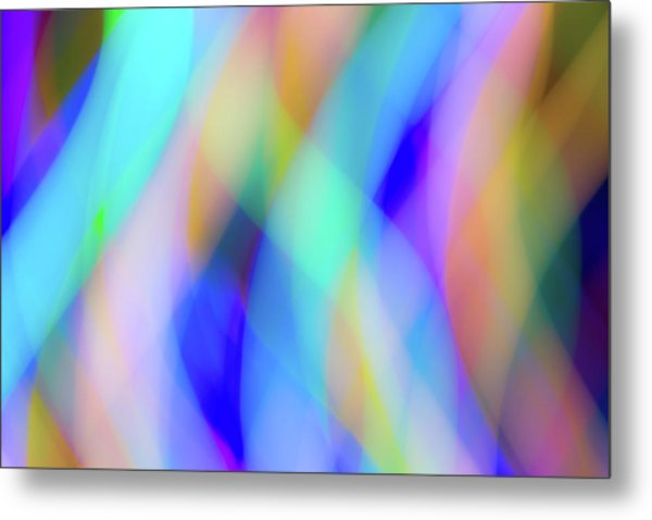 Flames Of Iridescence Metal Print