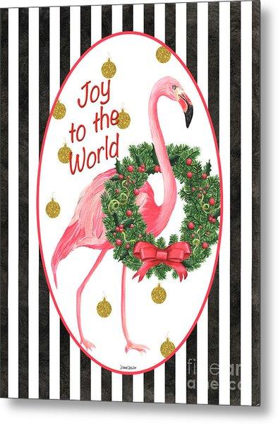 Flamingo Amore 2 Metal Print