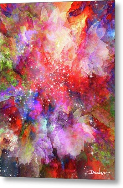 Metal Print featuring the digital art Flammable Imagination  by Dedric Artlove W