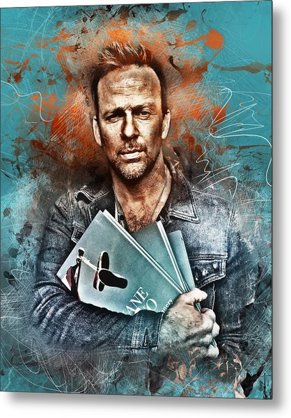 Flanery's Love Story Metal Print
