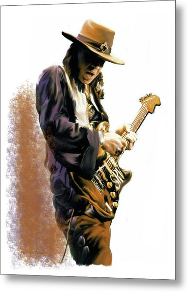 Flash Point Stevie Ray Vaughan Metal Print