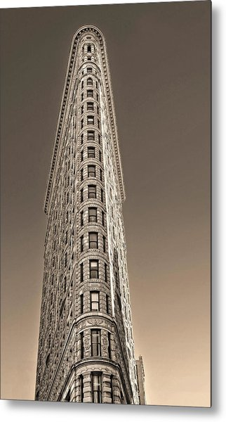 Flat Iron Building New York City Metal Print