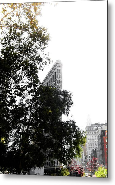 Flatiron Autumn  Metal Print