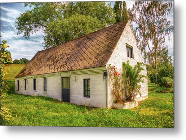 Flemish Cottage Metal Print