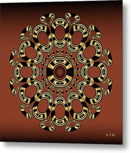 Fleuron Composition No.243 Metal Print