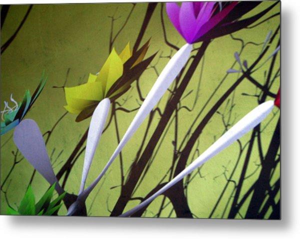 Fleurs 2 Metal Print by Jez C Self