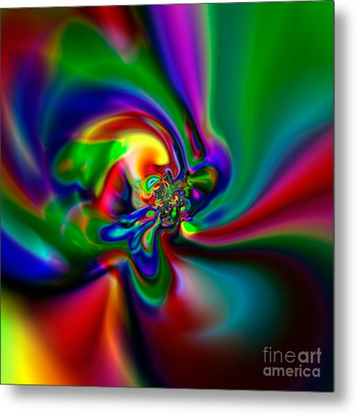 Flexibility 49a1 Metal Print by Rolf Bertram