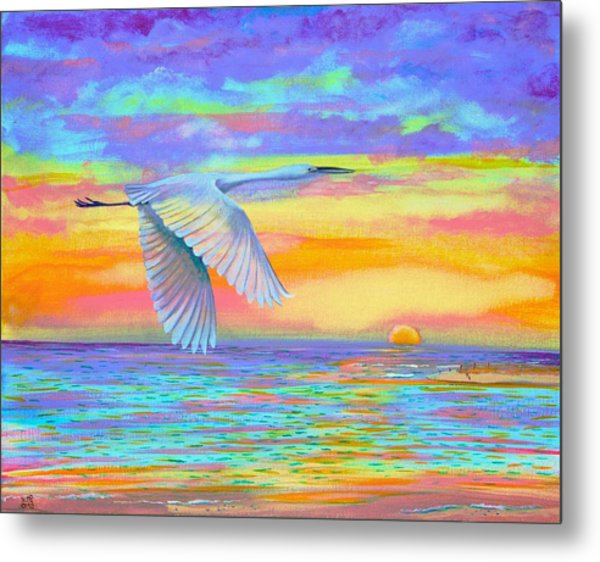 Flight Of Color Metal Print