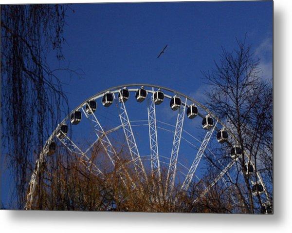 Flight Of The Ferris Metal Print by Jez C Self