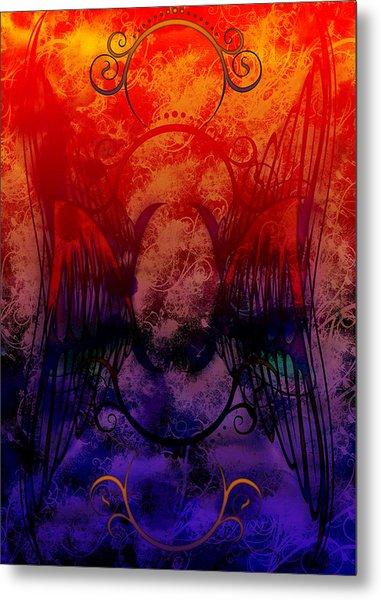 Flight Of The Phoenix Metal Print by Christopher Sprinkle