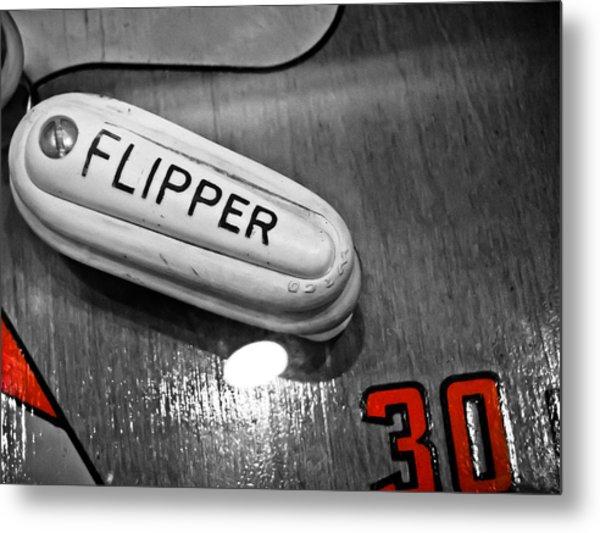 Flipper 30 - Pinball  Metal Print
