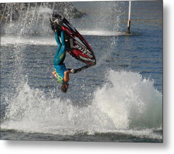 Jet Water Stunt Extreme  Metal Print