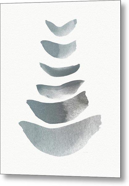 Floating 1- Zen Art By Linda Woods Metal Print