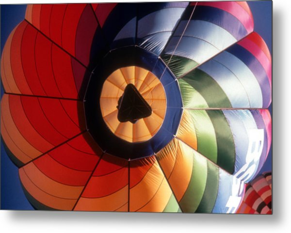 Floating By Metal Print by Gerard Fritz