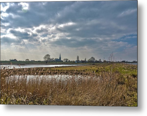 Floodplains Near Culemborg Metal Print