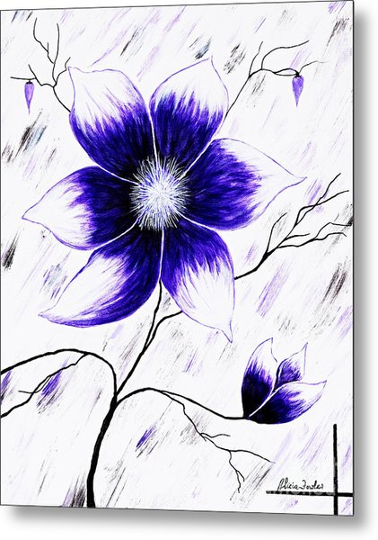 Floral Awakening Metal Print