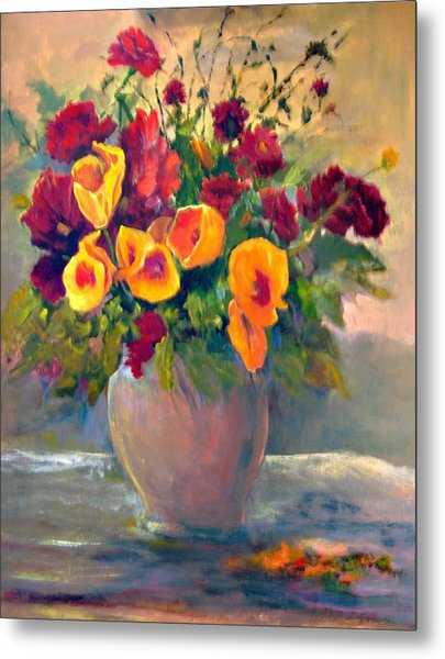 Floral Bouquet Metal Print by Jimmie Trotter