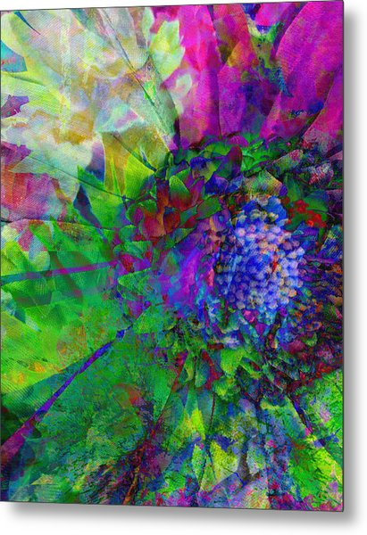 Floral Expressions I Metal Print by Ricki Mountain