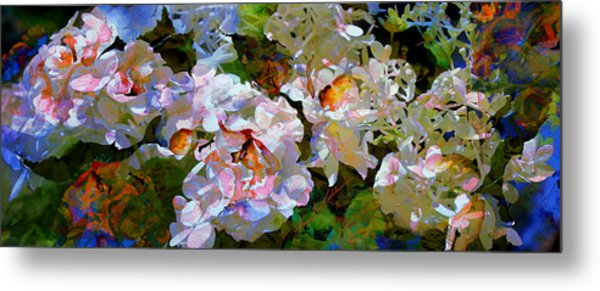 Floral Fiction 2 Metal Print