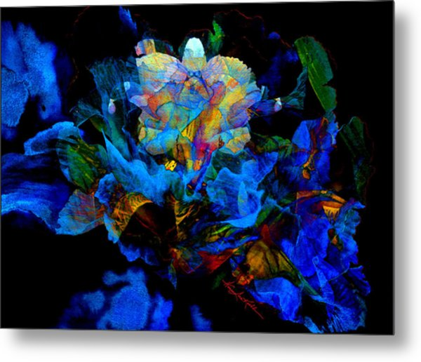 Floral Phantom Metal Print