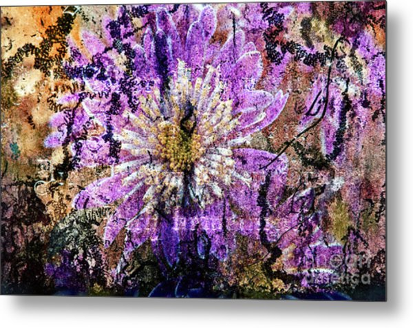 Floral Poetry Of Time Metal Print
