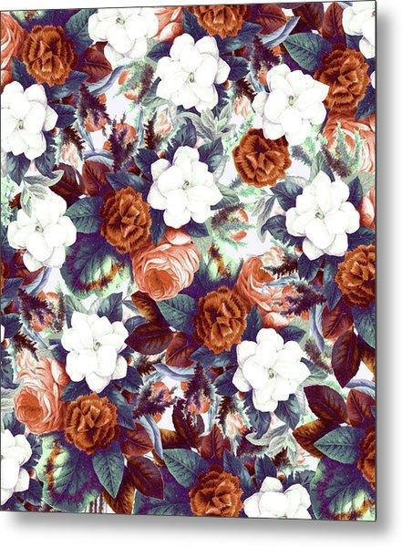 Floral Wonder Metal Print