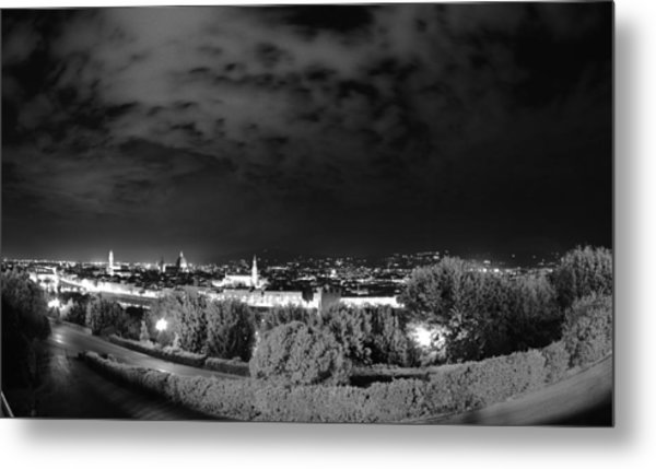 Florence From Above Metal Print