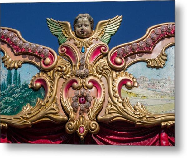 Florentine Carousel Metal Print